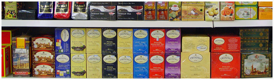 Fine Imported Teas, Coffees, and Drinks